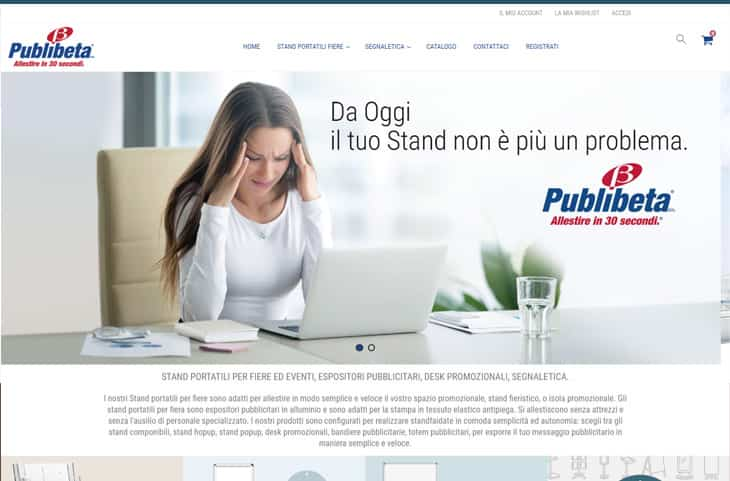 E-Commerce Magento Publibeta