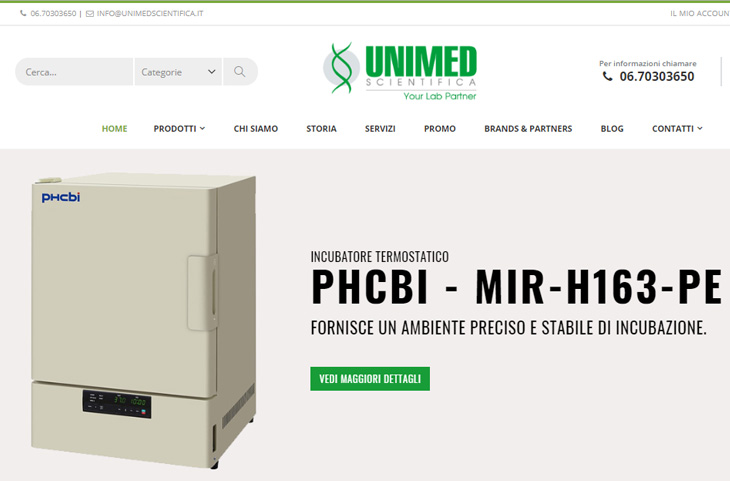 E-Commerce Magento Unimed Scientifica
