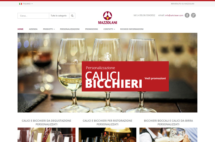E-Commerce Magento Mazzolani