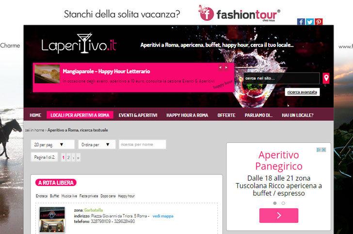 Laperitivo.it diventa MOBILE