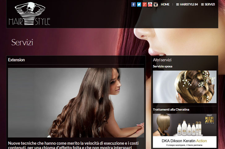 Sito web Hair Style