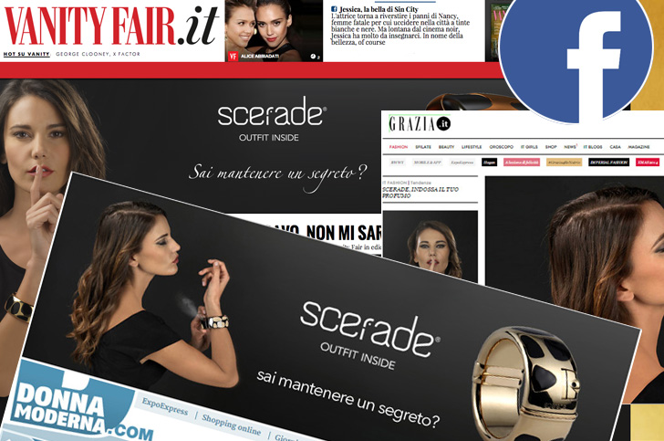 Campagna webmarketing per Scerade