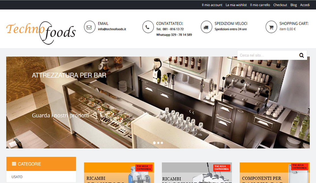 E-Commerce Magento Technofoods