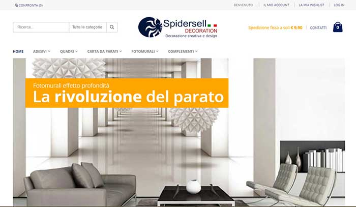 E-Commerce Magento Spidersell Decoration
