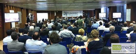Convegno UNIREC Presentazione del primo rapporto sui servizi a tutela del credito