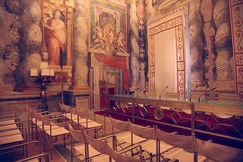 Sala zuccari - Palazzo Giustiniani Senato